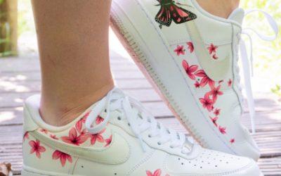 NikeAF1_flowers